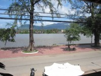 Overlooking Kampot river